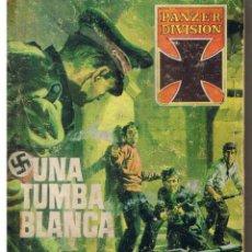 Tebeos: PANZER DIVISION. Nº 7. UNA TUMBA BLANCA. MORTIMER CODY. EDITORIAL ROLLAN. (P/D37). Lote 44689374