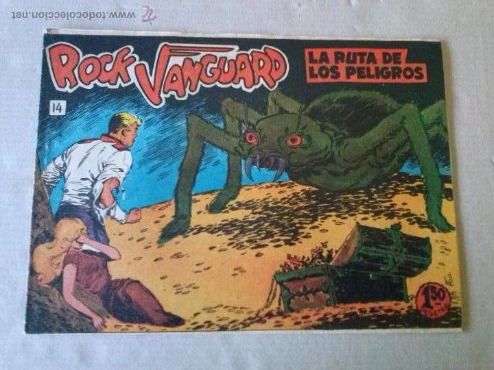 ROCK VANGUARD Nº 14 - ROLLAN (Tebeos y Comics - Rollán - Rock Vanguard)