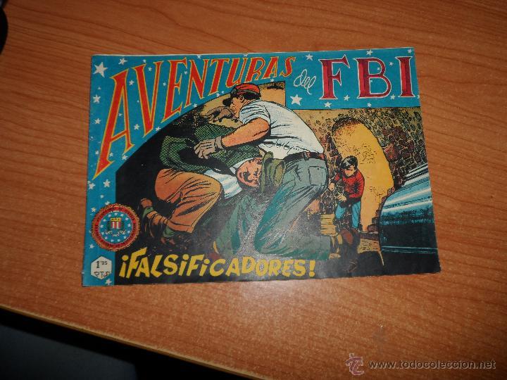 AVENTURAS DEL FBI Nº 132 EDITORIAL ROLLÁN 1951 ORIGINAL (Tebeos y Comics - Rollán - FBI)