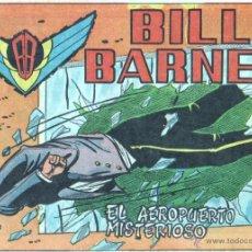 Tebeos: BILL BARNES ORIGINAL Nº 4 EDI. ROLLAN 1961 -NUEVO SIN CIRCULAR - DIBUJOS D. PELAYO - GUION - JARBER. Lote 46131878