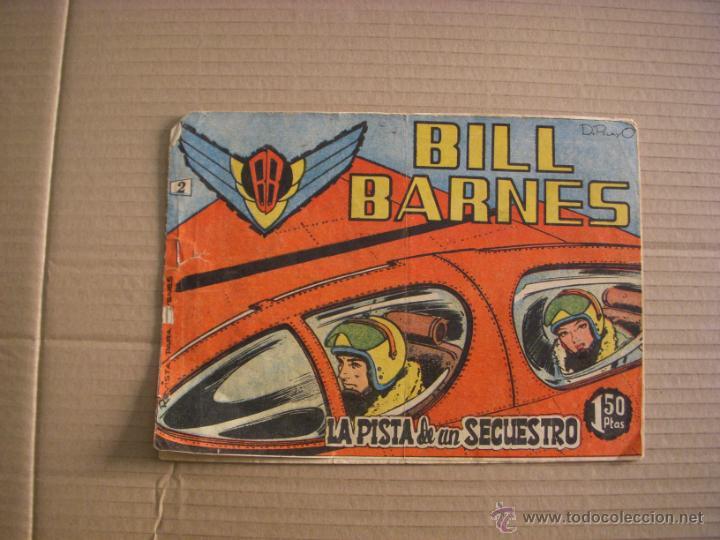 BILL BARNES Nº 2, EDITORIAL ROLLÁN (Tebeos y Comics - Rollán - Otros)