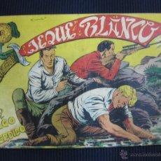 Tebeos: JEQUE BLANCO Nº 109. EDITORIAL ROLLAN.. Lote 47000921