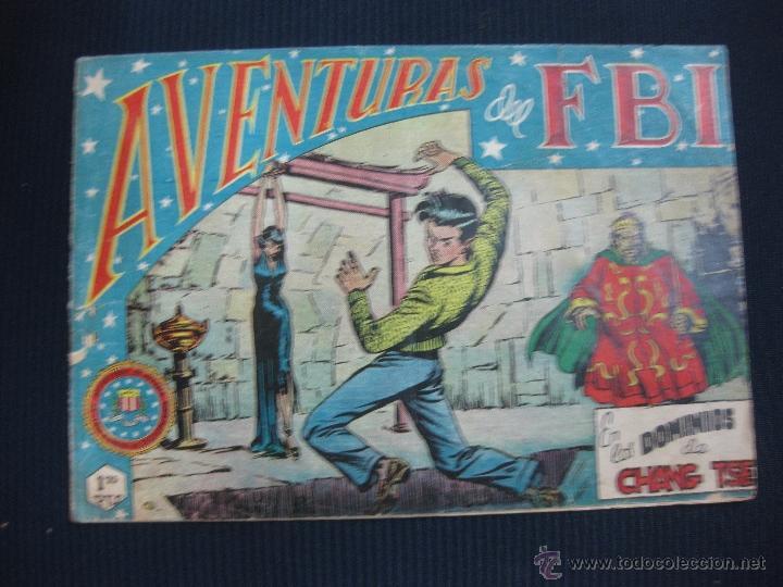 AVENTURAS DEL FBI Nº 51. EDITORIAL ROLLAN. (Tebeos y Comics - Rollán - FBI)