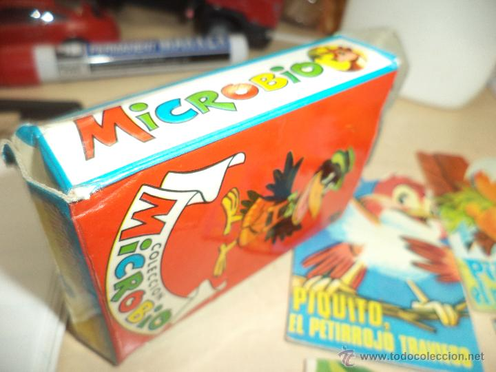 Tebeos: Colección Microbio 1969,cajita con 11 cuentos troquelados-Ed.Rollán S.A. - Foto 2 - 47020397