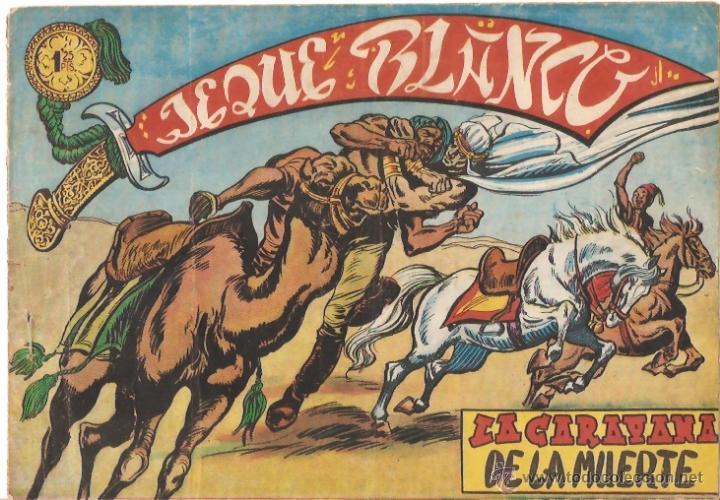 COMIC JEQUE BLANCO Nº6 (Tebeos y Comics - Rollán - Jeque Blanco)