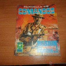Livros de Banda Desenhada: PANDILLA DE COMANDOS Nº 3 EDITORIAL ROLLAN . Lote 47298610