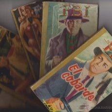 Livros de Banda Desenhada: NOVELAS SELECCIONES FBI **** LOTE 10 EJEMPLARES AÑOS 60. Lote 47395468