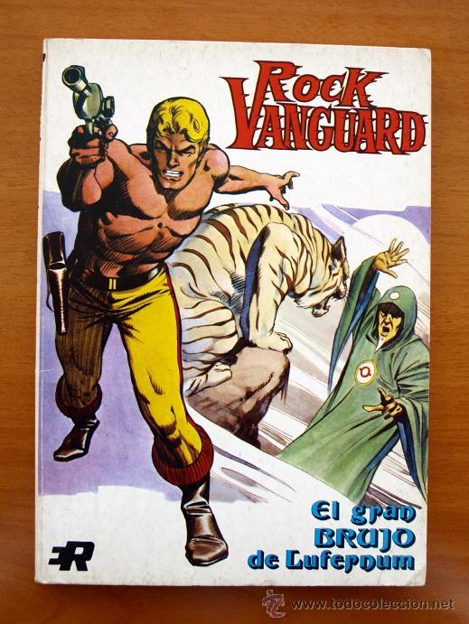 ROCK VANGUARD, Nº 1 - EDITORIAL ROLLÁN 1974 (Tebeos y Comics - Rollán - Otros)