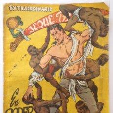 Tebeos: EXTRAORDINARIO JEQUE BLANCO Nº 3 - EN EL PODER DE LOS PIGMEOS - ORIGINAL AÑOS 1950 A 1960. Lote 48324227