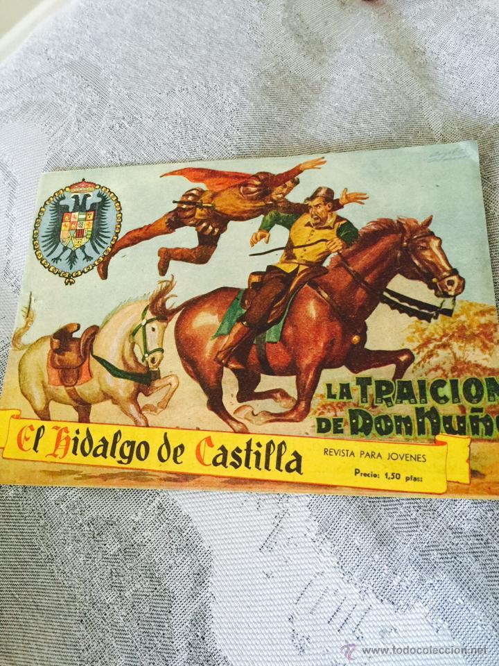 EL HIDALGO DE CÁSTILLA Nº 1. ORIGINAL EDITORIAL ROLLAN (Tebeos y Comics - Rollán - Otros)