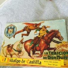Tebeos: EL HIDALGO DE CÁSTILLA Nº 1. ORIGINAL EDITORIAL ROLLAN. Lote 48822467
