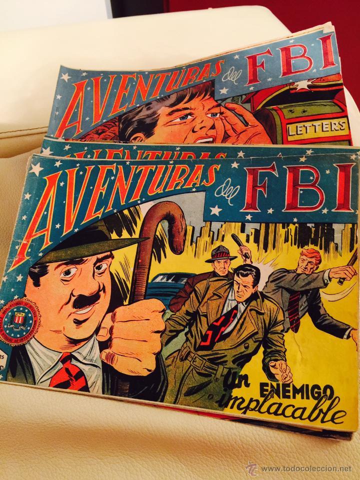 AVENTURAS DEL FBI Nº 158-228 ORIGINAL 6 € POR COMIC AÑO 1958 SUELTOS (Tebeos y Comics - Rollán - FBI)