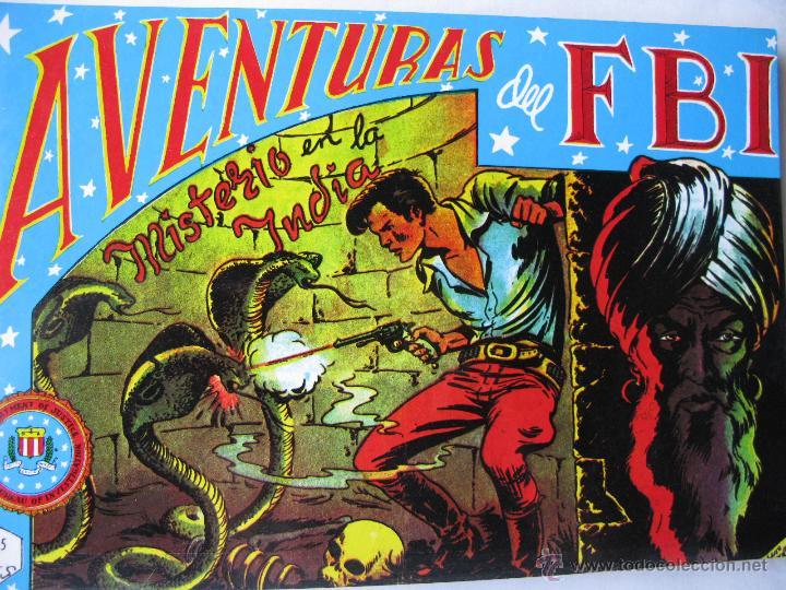 AVENTURAS DEL FBI. TOMO NRO. 2. 1981 EDITORIAL ANDINA S.A. / EDICIONES B.O. 1981. (Tebeos y Comics - Rollán - FBI)