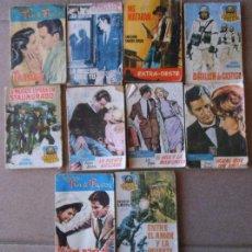 Livros de Banda Desenhada: LOTE 10 FASCÍCULOS DIFERENTES COLECCIONES DE EDITORIAL ROLLAN , ROMANCE , OESTE , ACCIÓN , AÑOS 60. Lote 49463516