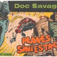 Tebeos: DOC SAVAGE ORIGINAL Nº 6 EDITORIAL ROLLAN 1961 POR ANTONIO HERNANDEZ PALACIOS. Lote 49900714