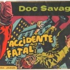 Tebeos: DOC SAVAGE ORIGINAL Nº 8 EDITORIAL ROLLAN 1961 POR ANTONIO HERNANDEZ PALACIOS. Lote 49900721