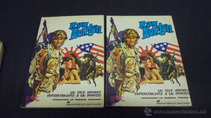 Tebeos: MENDOZA COLT. COLECCION COMPLETA. 6 TOMOS. DEL 1 AL 6. EDITORIAL ROLLÁN. 1974. - Foto 3 - 49930818