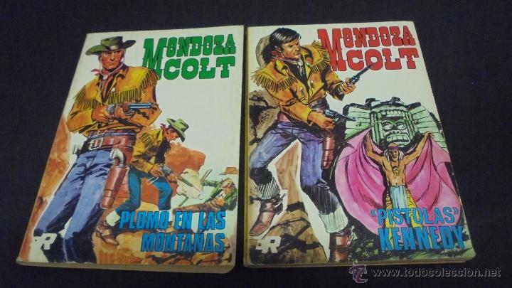 Tebeos: MENDOZA COLT. COLECCION COMPLETA. 6 TOMOS. DEL 1 AL 6. EDITORIAL ROLLÁN. 1974. - Foto 7 - 49930818