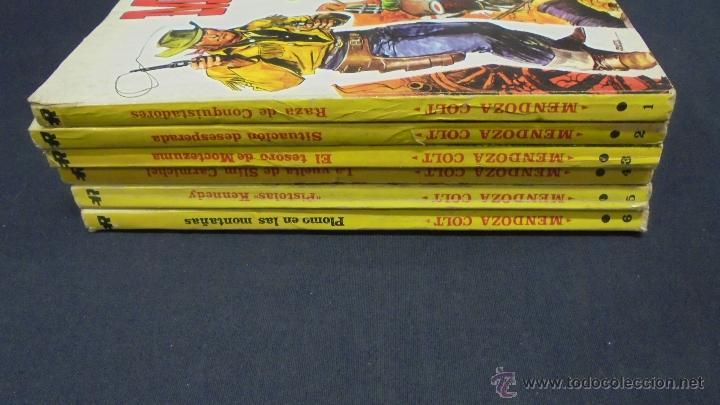 Tebeos: MENDOZA COLT. COLECCION COMPLETA. 6 TOMOS. DEL 1 AL 6. EDITORIAL ROLLÁN. 1974. - Foto 9 - 49930818