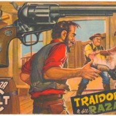 Tebeos: MENDOZA COLT ORIGINAL Nº 25 - EDITORAL ROLLAN 1955 POR MARTIN SALVADOR. Lote 49958170