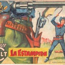 Tebeos: MENDOZA COLT ORIGINAL Nº 61 - EDITORAL ROLLAN 1955 POR MARTIN SALVADOR. Lote 49958232