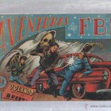 Tebeos: AVENTURAS DEL FBI. Nº 44. VOLANDO HACIA LA MUERTE. Lote 50019648