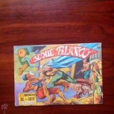 Tebeos: JEQUE BLANCO, EL SEGRETO DE LA GRAN PIRAMIDE, EDITORIAL ROLLAN. Lote 50072558