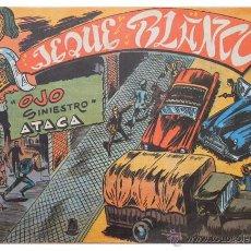 Tebeos: JEQUE BLANCO – LOTE 8 NÚMEROS (17 AL 24) – ED. B.O. REEDICIÓN 1980. Lote 50745813