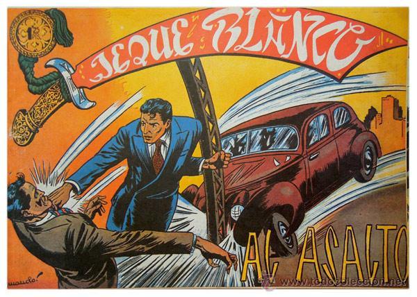 Tebeos: Jeque Blanco – Lote 8 números (17 al 24) – Ed. B.O. reedición 1980 - Foto 4 - 50745813
