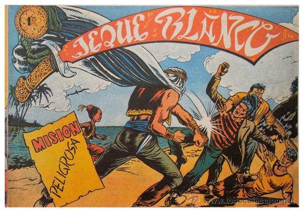 Tebeos: Jeque Blanco – Lote 8 números (17 al 24) – Ed. B.O. reedición 1980 - Foto 5 - 50745813