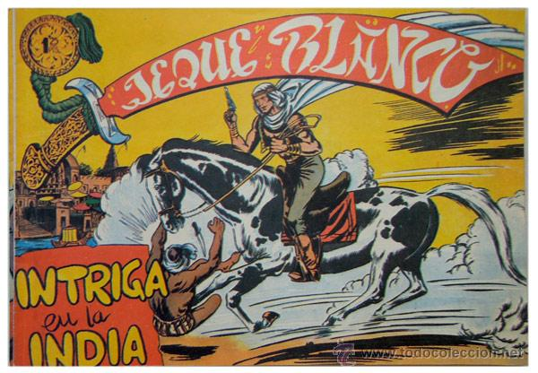 Tebeos: Jeque Blanco – Lote 8 números (17 al 24) – Ed. B.O. reedición 1980 - Foto 6 - 50745813