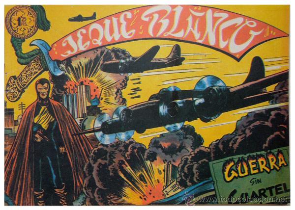 Tebeos: Jeque Blanco – Lote 8 números (17 al 24) – Ed. B.O. reedición 1980 - Foto 8 - 50745813