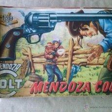 Tebeos: COLECCION CASI COMPLETA DE MENDOZA COLT - ROLLAN A FALTA DE 4 NºS. Lote 50780973