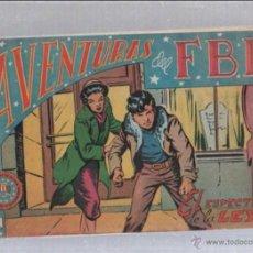 Tebeos: AVENTURAS DEL FBI. 43. EL ESPECTRO DE LA LEY. Lote 50787845