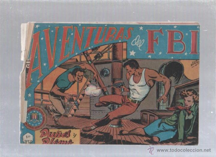 AVENTURA DEL FBI. 6. PUÑOS Y PLOMO (Tebeos y Comics - Rollán - FBI)