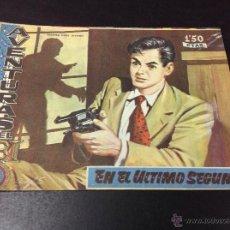 Tebeos: AVENTURAS DEL FBI- EN EL ÚLTIMO SEGUNDO. Lote 50850076