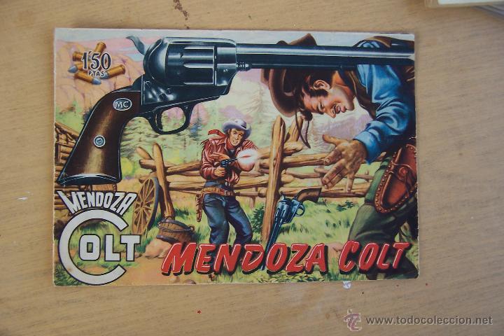 ROLLAN.- MENDOZA COLT DEL Nº 1 AL 34 Y 45 Nº MÁS DE LA SERIE Y LOS DOS EXTRA (Tebeos y Comics - Rollán - Mendoza Colt)
