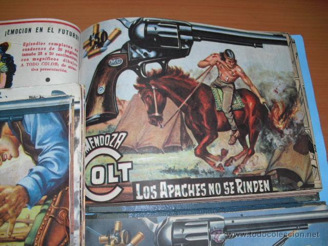 Tebeos: 93 tebeos de mendoza coct, de editorial rollan, 1959, leer anuncio - Foto 2 - 51433298