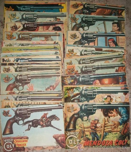 MENDOZA COLT (ROLLAN) COMPLETA 120 NUMEROS (ORIGINAL) (Tebeos y Comics - Rollán - Mendoza Colt)