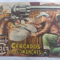 Tebeos: TEBEO - MENDOZA COLT, Nº 20, CERCADOS POR LOS COMANCHES. Lote 51702530