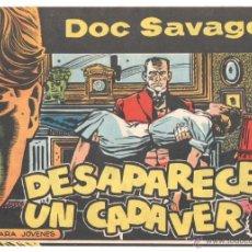 Tebeos: DOC SAVAGE ORIGINAL Nº 1 EDI. ROLLAN 1961, SIN CIRCULAR, NUEVO - POR HERNADEZ PALACIOS. Lote 51810216