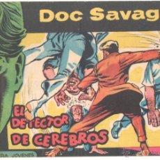 Tebeos: DOC SAVAGE ORIGINAL Nº 12 EDI. ROLLAN 1961 DIBUJOS DE HERNADEZ PALACIOS. Lote 51810293