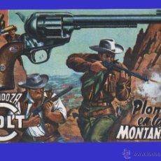 Tebeos: CÓMIC - MENDOZA COLT - PLOMO EN LAS MONTAÑAS - COMIC ROLLÁN ORIGINAL DEL AÑO 1955 - Nº 13. Lote 52472837