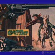 Tebeos: MENDOZA COLT - CIUDAD SIN LEY - COMIC ROLLÁN ORIGINAL DEL AÑO 1955 - Nº 33. Lote 52472995