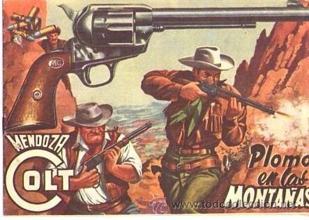 MENDOZA COLT (ROLLAN) Nº 13 (Tebeos y Comics - Rollán - Mendoza Colt)