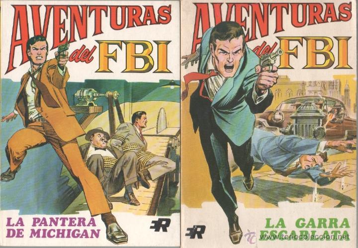 AVENTURAS DEL FBI EDI. ROLLAN 1974 1 AL 8 COMPLETA , MAGNÍFICO ESTADO, FORMATO VÉRTICE DE 128 PGS (Tebeos y Comics - Rollán - FBI)