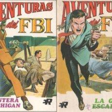 Tebeos: AVENTURAS DEL FBI EDI. ROLLAN 1974 1 AL 8 COMPLETA , MAGNÍFICO ESTADO, FORMATO VÉRTICE DE 128 PGS. Lote 52831959