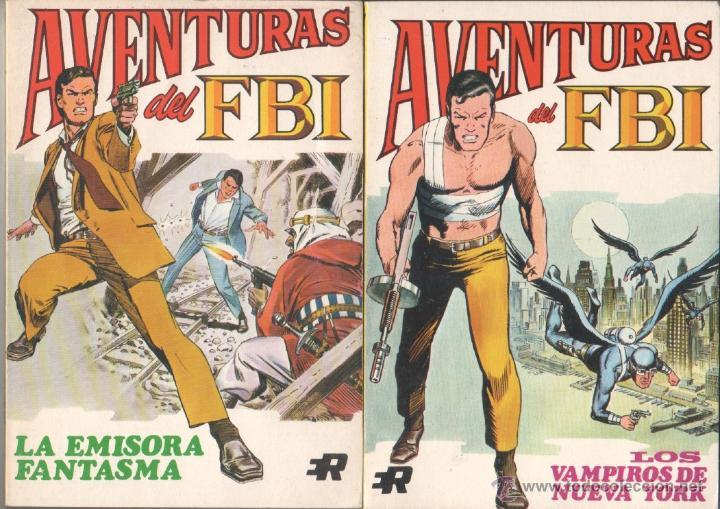 Tebeos: AVENTURAS DEL FBI EDI. ROLLAN 1974 1 AL 8 COMPLETA , MAGNÍFICO ESTADO, FORMATO VÉRTICE DE 128 PGS - Foto 2 - 52831959