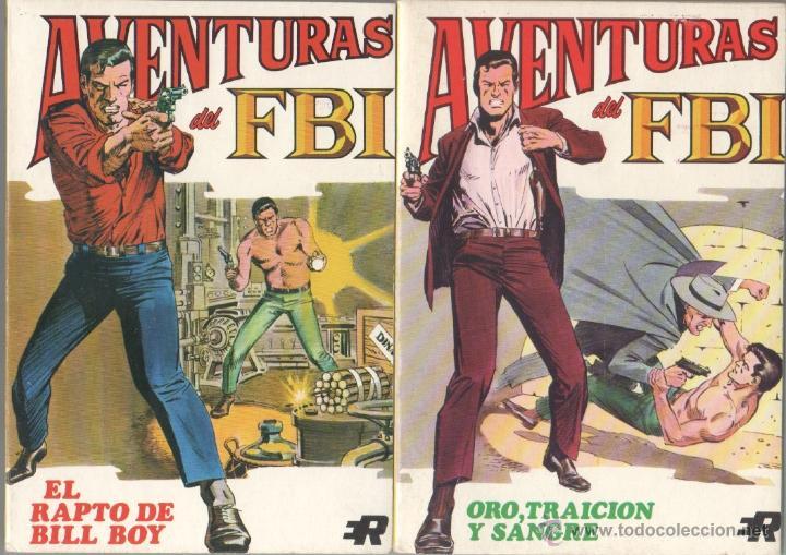 Tebeos: AVENTURAS DEL FBI EDI. ROLLAN 1974 1 AL 8 COMPLETA , MAGNÍFICO ESTADO, FORMATO VÉRTICE DE 128 PGS - Foto 3 - 52831959