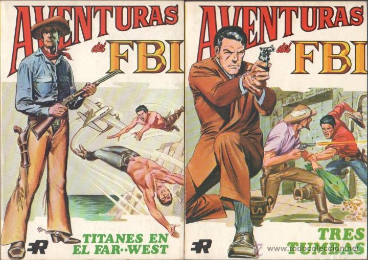 Tebeos: AVENTURAS DEL FBI EDI. ROLLAN 1974 1 AL 8 COMPLETA , MAGNÍFICO ESTADO, FORMATO VÉRTICE DE 128 PGS - Foto 4 - 52831959